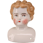 Antique China Doll Head with Nice Coloring