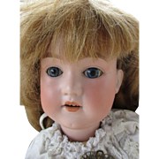 "Antique George Borgfelt 24"" Bisque Head Doll"