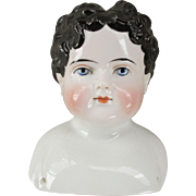 Antique Male China Doll Head - Beautiful Features