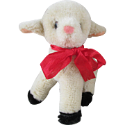 Adorable Small Mohair Lamb for Your Doll
