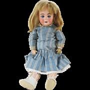 Antique Bisque Head Doll Marked 128