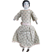 "Tiny 6.5"" Antique China Head Doll"