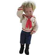"Tiny 11"" Schoenhut Antique Doll in Original Condition"