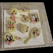 Doll House Miniature Toiletry Set