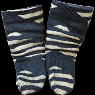 Antique Doll Socks or Stockings