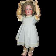 "Stunning 13"" K Star R Simon Halbig Bisque Head Doll"