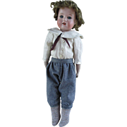 Sweet Bisque Shoulder Head Boy Doll
