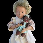 Adorable Schoenhut Character Doll
