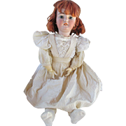 "Stunning 30"" Simon Halbig 1079 Antique Bisque Head Doll"