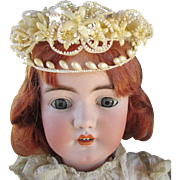 Ornate Head Piece for Antique Doll