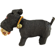 Little Vintage Mechanical Salon Scottish Terrier Dog