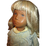 1975-1976 Blonde Sasha Doll in Her Original Outfit and Wrist Tag