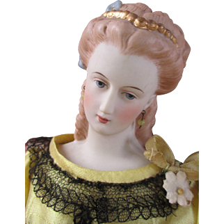 Stunning Artist Parian Type Doll with Serene Expression