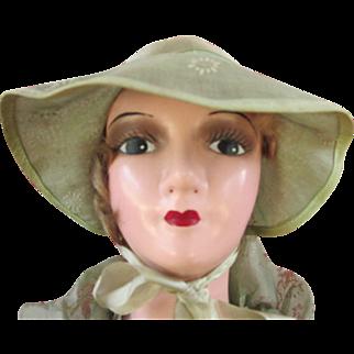 Sassy Vintage Boudoir Doll - Very Good Condition