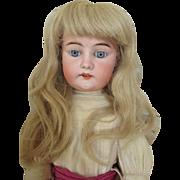 Antique German 1250 Bisque Head Doll