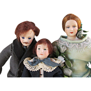 Three Artist Doll House Doll - Nice Family
