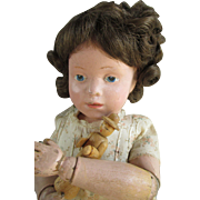 "Early 14"" Schoenhut Doll - So Endearing"