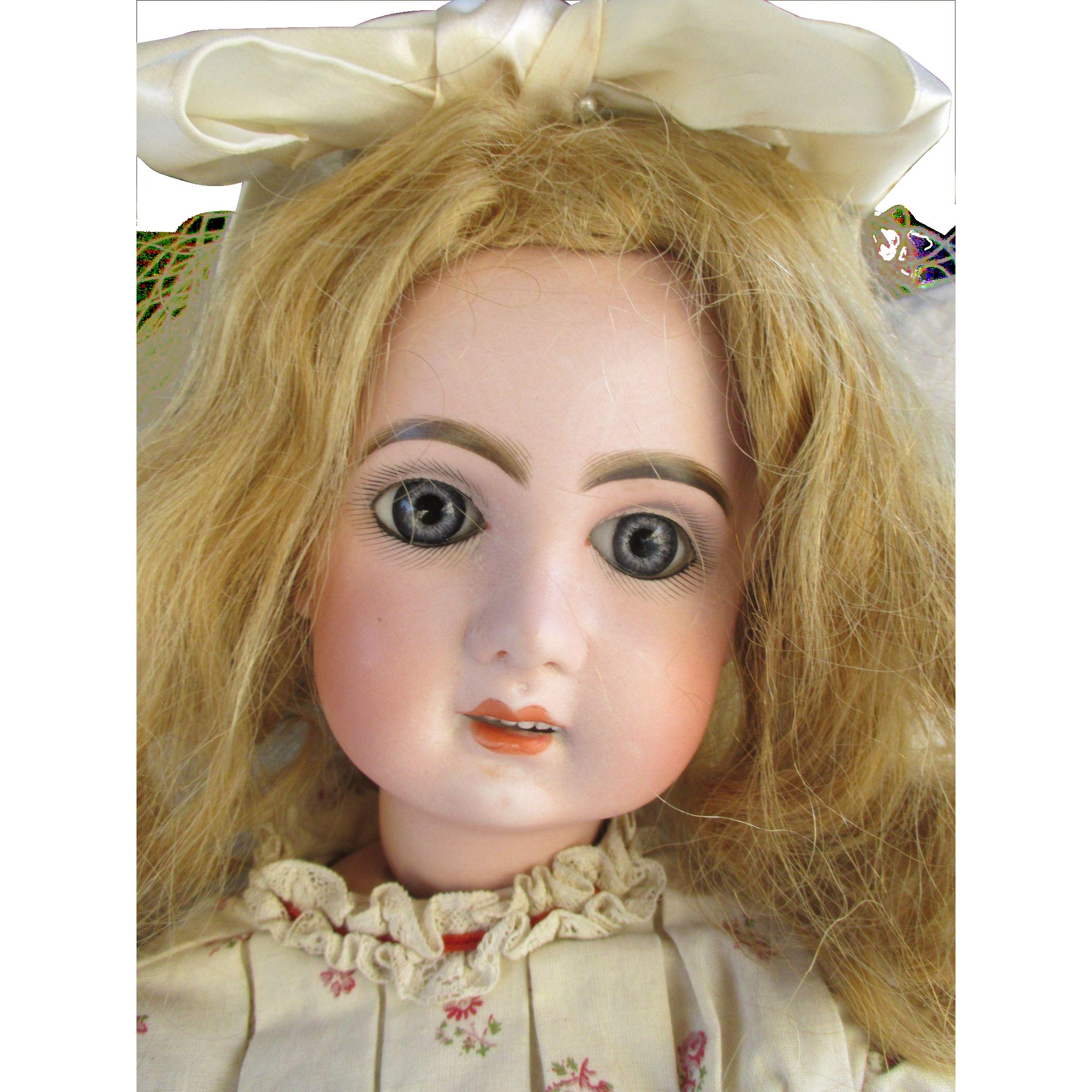 Tete Jumeau - French Doll - Beautiful Antique French Tete Jumeau Doll