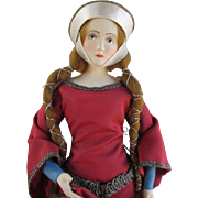 Stunning Artist Shirley White Doll in Sensational Costume
