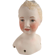 Very Pretty Artist Porcelain Doll Head