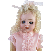 Adorable Antique Bisque Head Doll