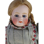 Antique Turned Shoulder Bisque Head Doll