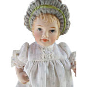 Adorable Artist Bonnet Head Doll