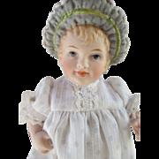 Adorable Artist Bonnet Head Doll