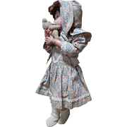 "Precious 14"" Schoenhut doll in Sweet Dress - Red Tag Sale Item"