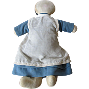 Vintage Folk Art Amish Cloth Doll