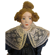 Gorgeous Hand Sculpted Doll By Artist Shirley White