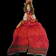 Vintage Vamp Half Doll