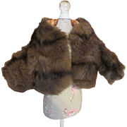 Satin Lined Fur for Your Fashion Doll - Cissy or French Fashion
