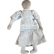 Early Cloth Folk Art Doll