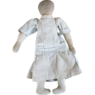 Early Cloth Folk Art Doll