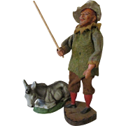 Antique Creche Figure for Your Creche Scene