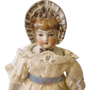 Sweet Artist Bonnet Head Doll