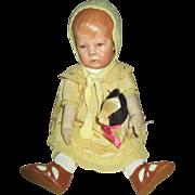 Stunning Wide Hip Kathe Kruse Baby Doll