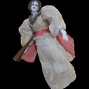 Beautiful Antique Wax Angel