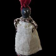 Vintage Folk Art Nipple Doll