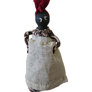 Vintage Folk Art Nipple Doll