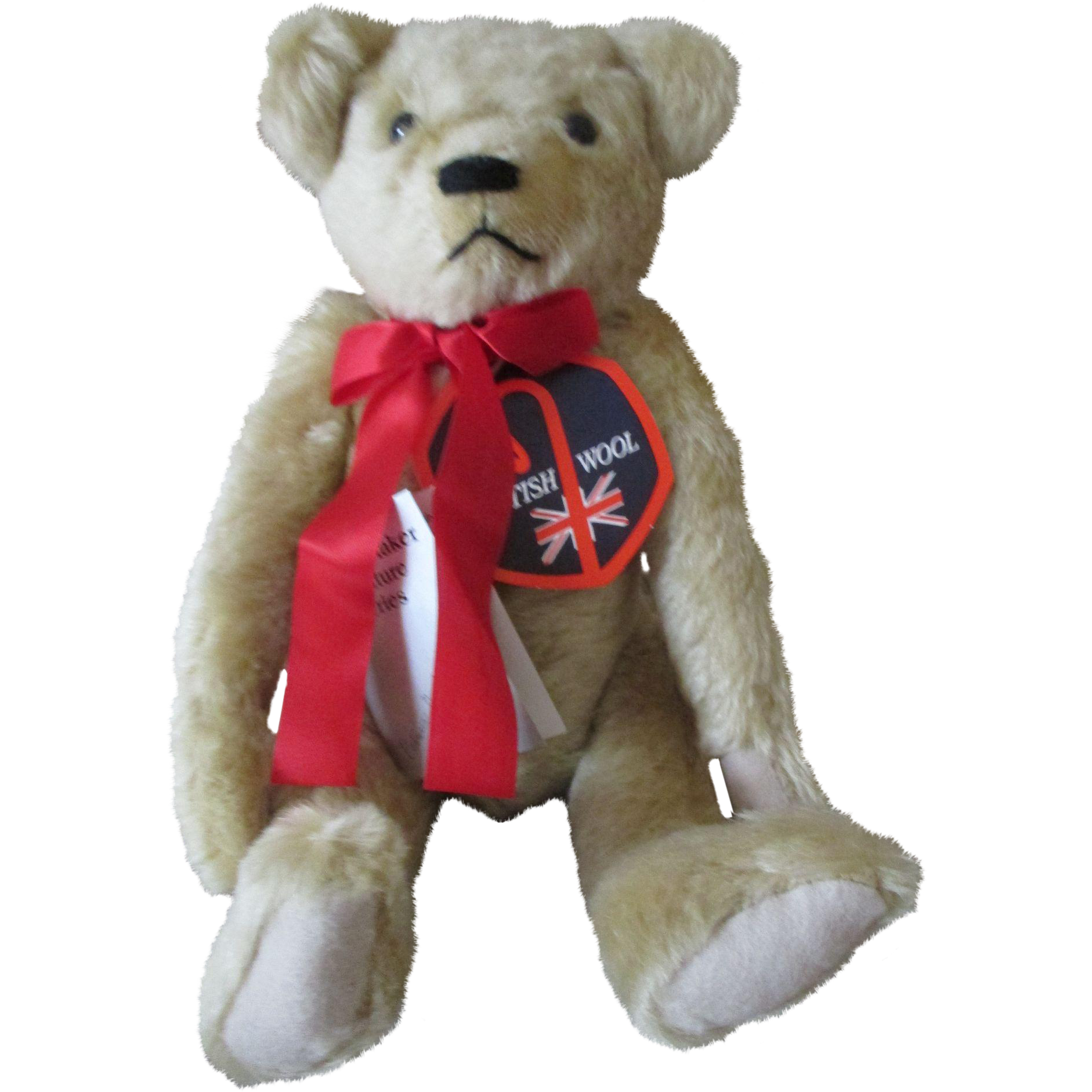 Deans Teddy Bear by  the Patricia Schoonmaker Signature Series