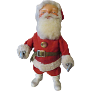 Vintage Wind-up Nodding Santa Claus Doll