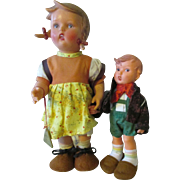 Vintage Hummel Dolls - All Original