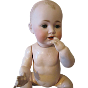 Adorable Solid Dome Kestner Baby Doll