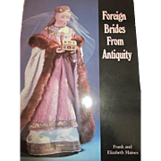 Foreign Brides From Antiquity Book - Great for Costuming Your Antique Dolls - Red Tag Sale Item