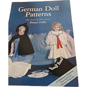 "German Doll Patterns - 12"" & 15"" dolls clothing book"