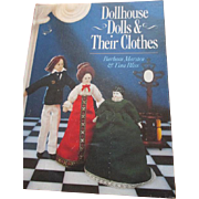 Doll House Dolls & Their Clothes book by Barbara Marsten & Tina Bliss