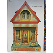 """Doll House Book entitled, """"The Collector's Guide to Selecting, Restoring, and Enjoying New and Vintage Dollhouses"""""""