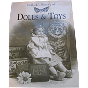"""Doll Reference Book entitled, """"Pollock's History of Dolls & Toys"""" - History of English Dolls and Toys"""
